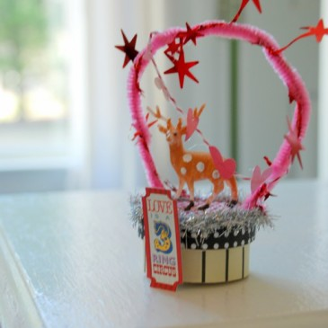 Valentine's Altered Art Boxes