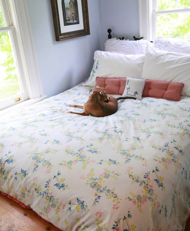 img 4741 633x7681 DIY Duvet Cover/ Comforter Cover From Two Flat Sheets