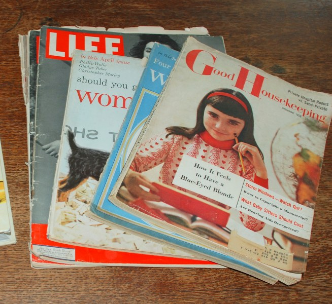 DSC 0014 654x600 DIY Very Vintage Vinyl Book Covers