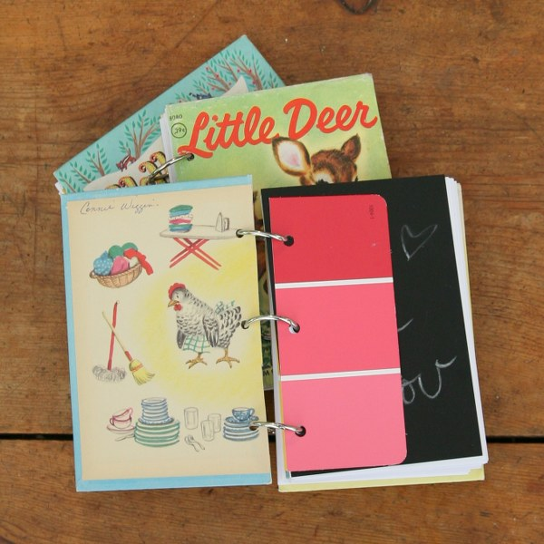 Vintage Book Cover Notebooks : Diy vintage book notebooks my so called crafty life