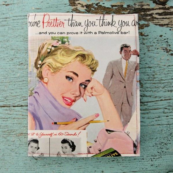 Diy Vintage Book Cover ~ Diy very vintage vinyl book covers my so called crafty life