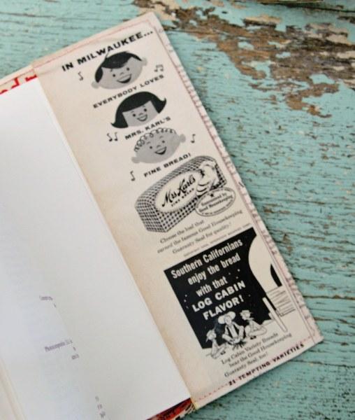 IMG 0229 508x600 DIY Very Vintage Vinyl Book Covers