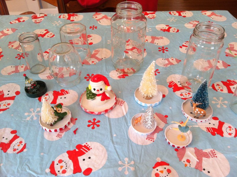 IMG 4970 800x598 DIY Recycled Jar Snowglobes
