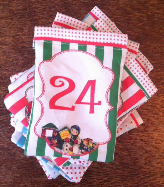 IMG 5060 524x600 DIY Drawstring Bag Advent Calendar