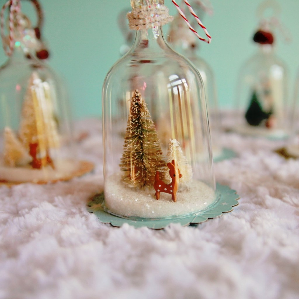 diy vintage inspired bell jar ornaments my so called crafty life. Black Bedroom Furniture Sets. Home Design Ideas