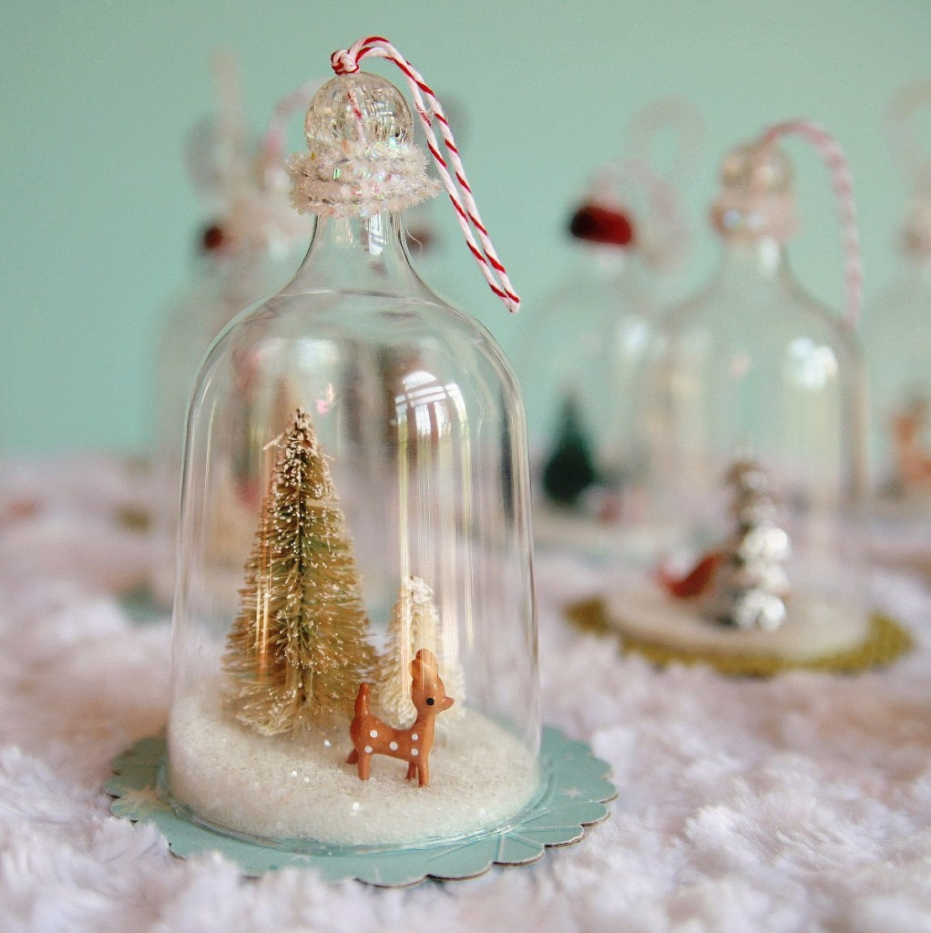 IMG 5421 1198x1200 1022x1024 DIY Vintage Inspired Bell Jar Ornaments