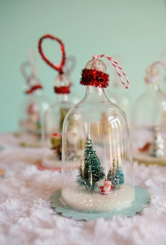 diy vintage inspired bell jar ornaments my so called. Black Bedroom Furniture Sets. Home Design Ideas