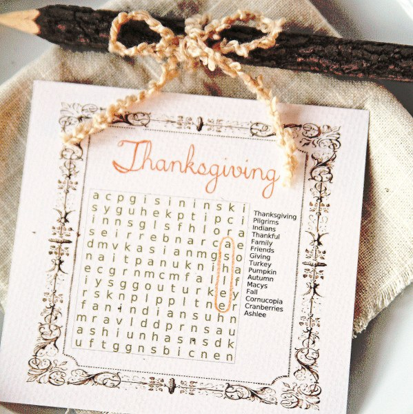 IMG 8491 599x600 Thanksgiving Word Search Place Cards