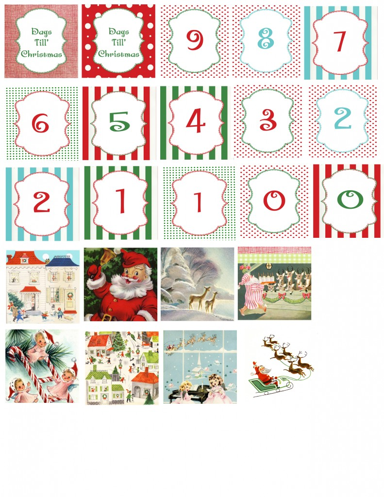 countdown blocks copy 791x1024 DIY Christmas Countdown Blocks