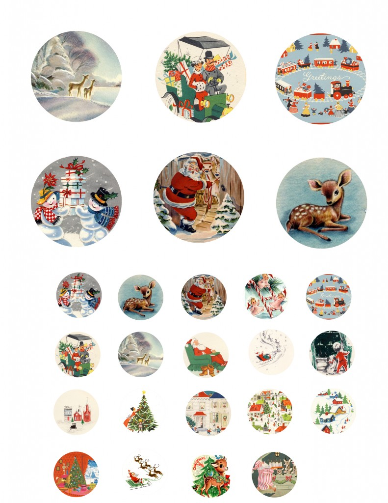 Tinker Tinker Craft: Vintage Christmas Printable's: Free downloads ...