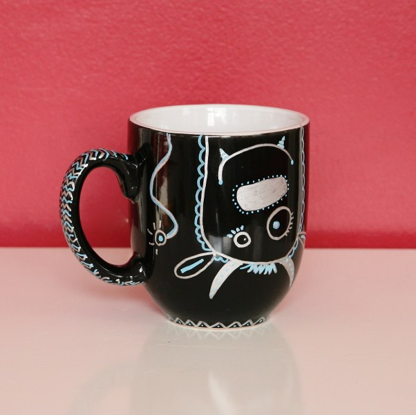 12 days of handmade gifts fun sharpie mugs my so called for Handmade mug designs