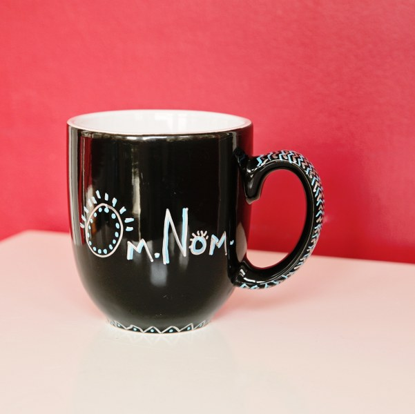 IMG 9008 copy 601x600 12 Days of Handmade Gifts  Fun Sharpie Mugs