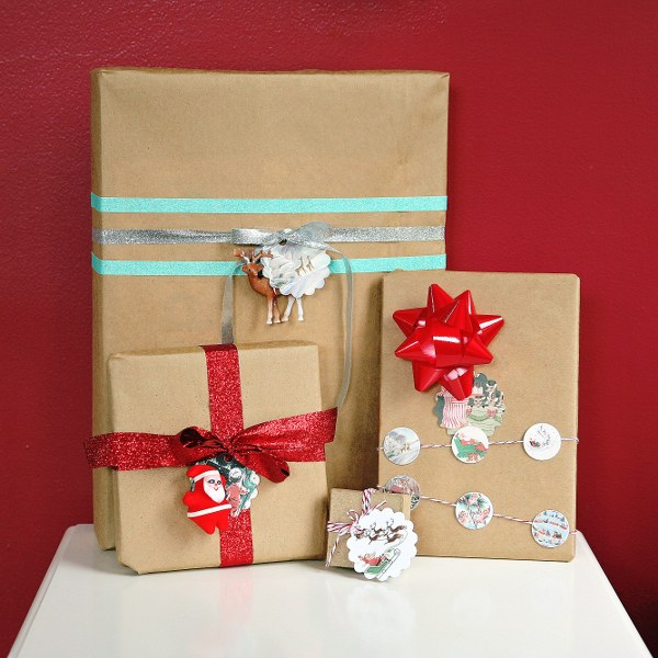 IMG 9605 600x600 Бесплатно для печати Vintage Christmas Gift тегов