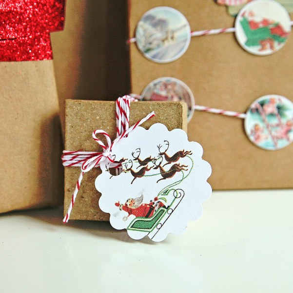 free printable vintage christmas gift tags my so called crafty life
