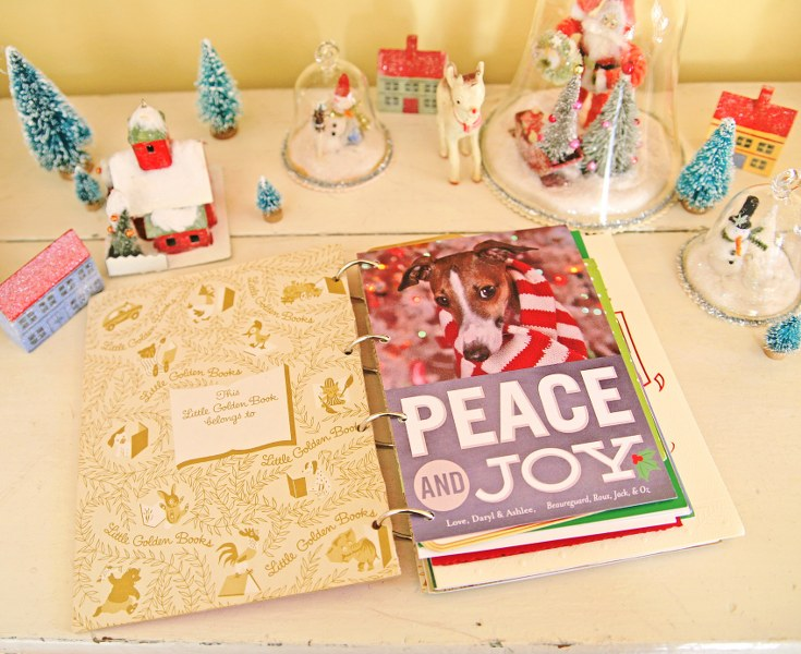 IMG 9662 735x600 DIY Christmas Card Book