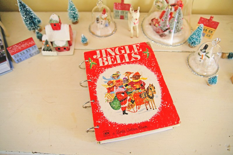 IMG 9667 800x533 DIY Christmas Card Book