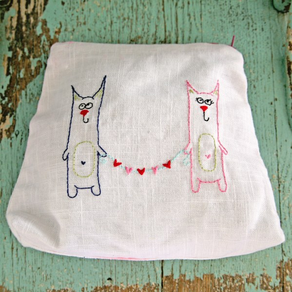 IMG 0030 599x600 14 Days of Love  Freebie Kitty Love Embroidery Pattern