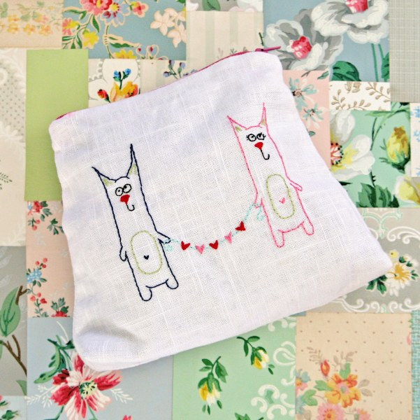 IMG 0033 601x600 14 Days of Love  Freebie Kitty Love Embroidery Pattern