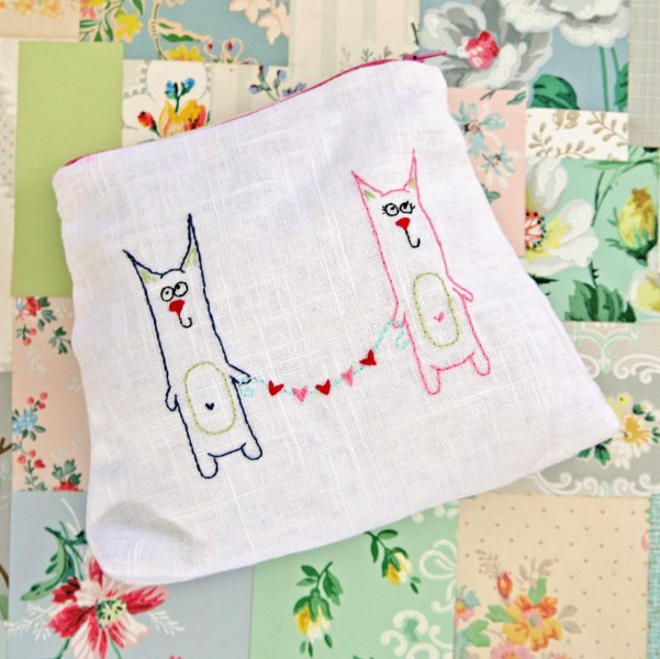 IMG 0035 601x600 14 Days of Love  Freebie Kitty Love Embroidery Pattern