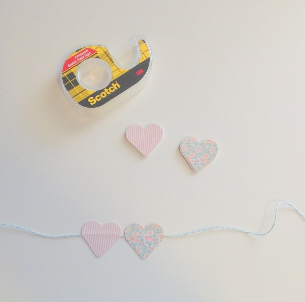 IMG 0456 607x600 14 Days of Love  DIY Sweetheart Cake Bunting and Picks