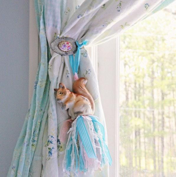 IMG 2398 597x600 DIY Vintage Spoon Curtain Tie Backs