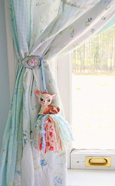 IMG 2404 374x600 DIY Vintage Spoon Curtain Tie Backs
