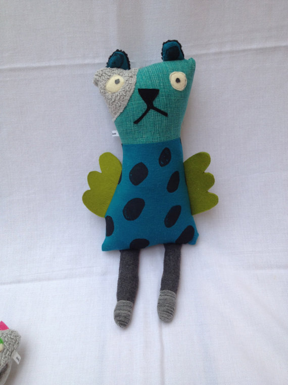 blue spotty guardian plush creature doll Holiday Gift Guides 2013 For