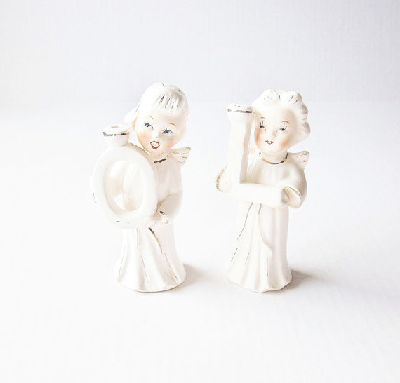 relco angel figurines Favorite Vintage Finds of the Week  November 18th