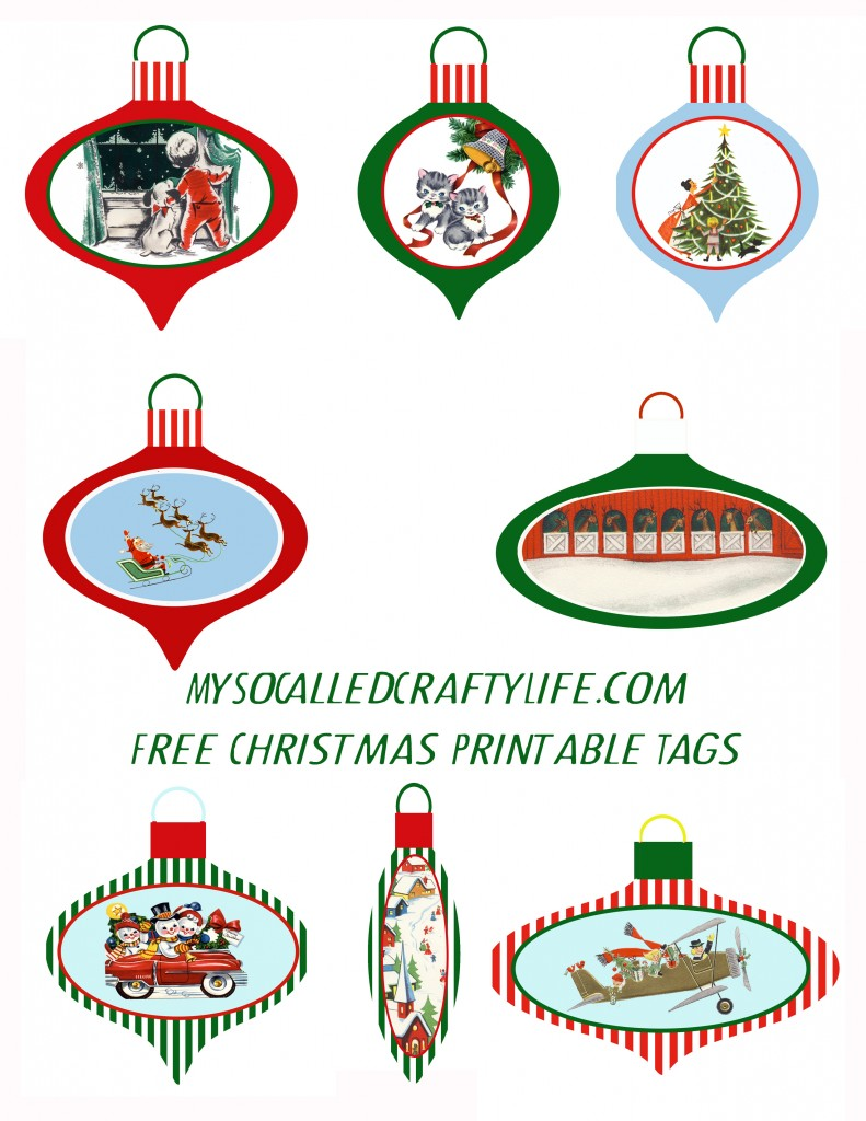 printable xmas tags 791x1024 Fun Shrinky Ornament Christmas Tags