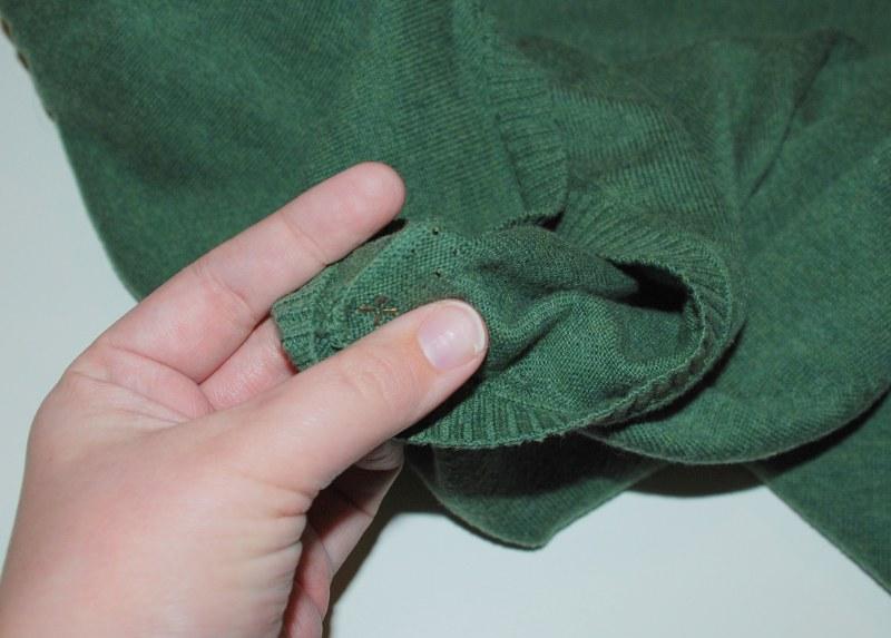 DSC 0195 800x573 DIY Easy Studded Sweater