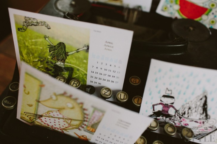 My Favorite Free Printable 2014 Calendars