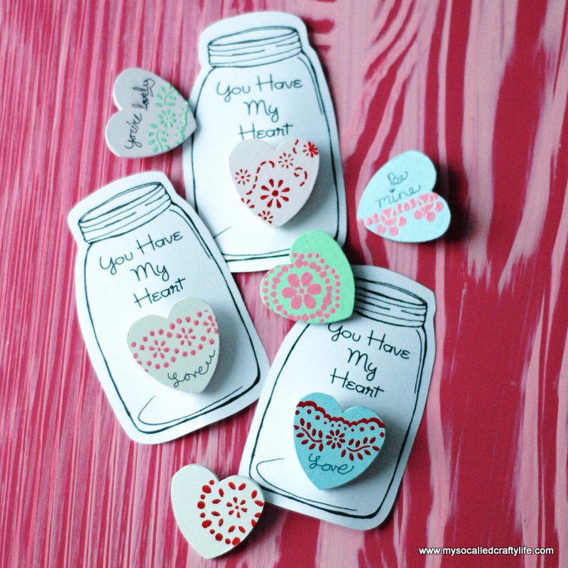 10 DSC 0048 DIY Heart in a Jar Valentine Pin