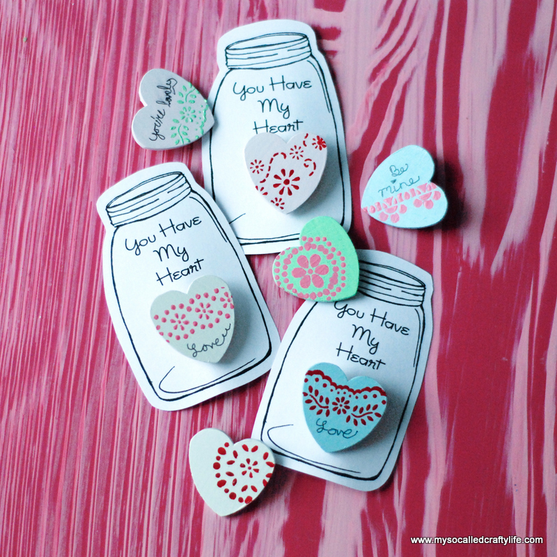 11 DSC 0049 DIY Heart in a Jar Valentine Pin