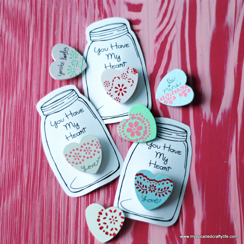 12 DSC 0050 DIY Heart in a Jar Valentine Pin
