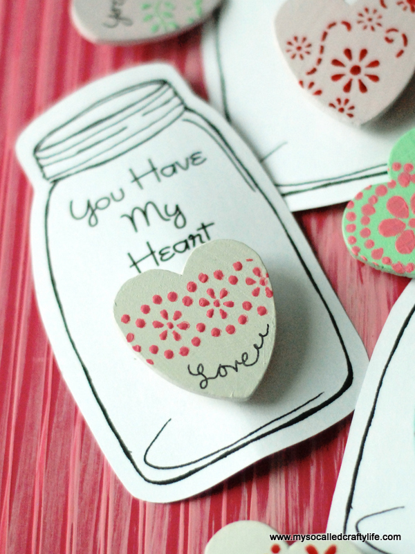 14 DSC 0052 DIY Heart in a Jar Valentine Pin