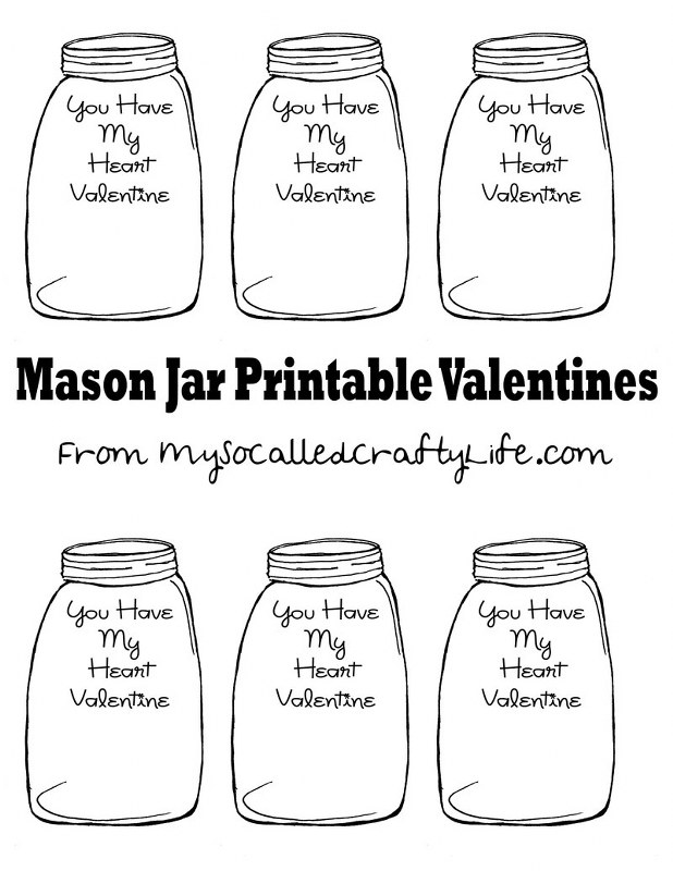 mason jar valentines 618x800 DIY Heart in a Jar Valentine Pin