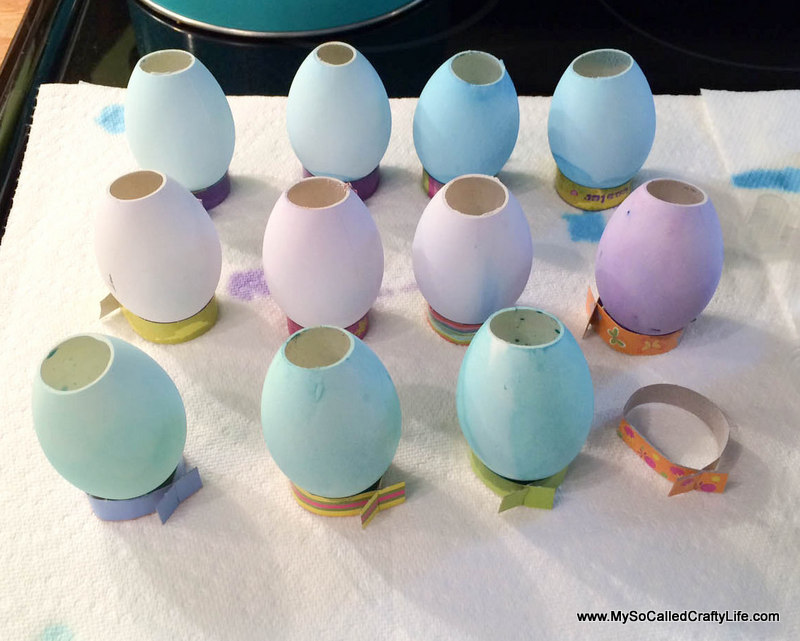 18 photo 5 2 DIY Easter Egg Vases