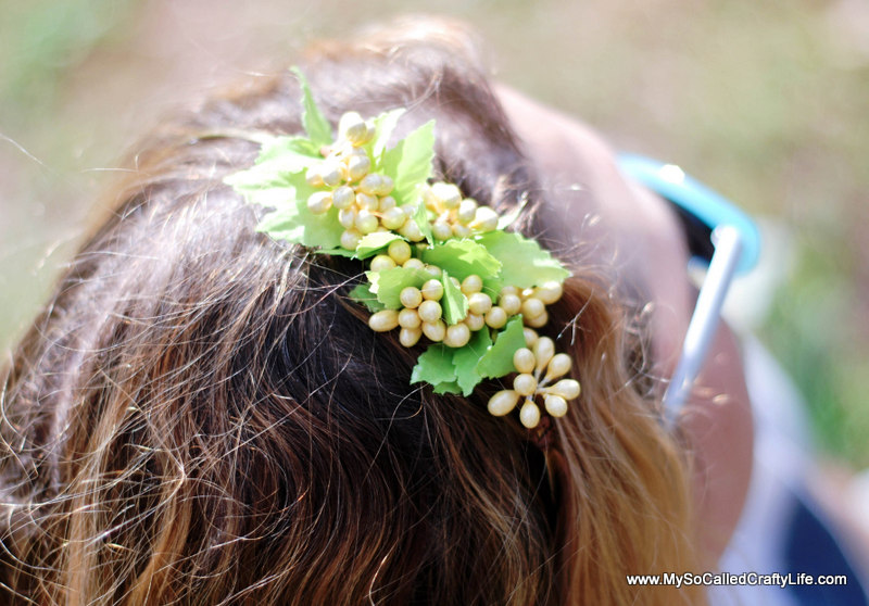 easter crafts Easy DIY Ten Minute Floral Headband