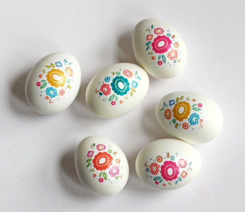 printable easter egg decals Fantastic Spring and Easter DIY Round Up