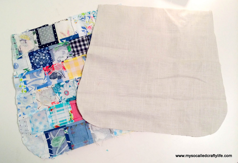 16 photo 5 DIY Sweet Vintage Scrappy Patchwork Tote