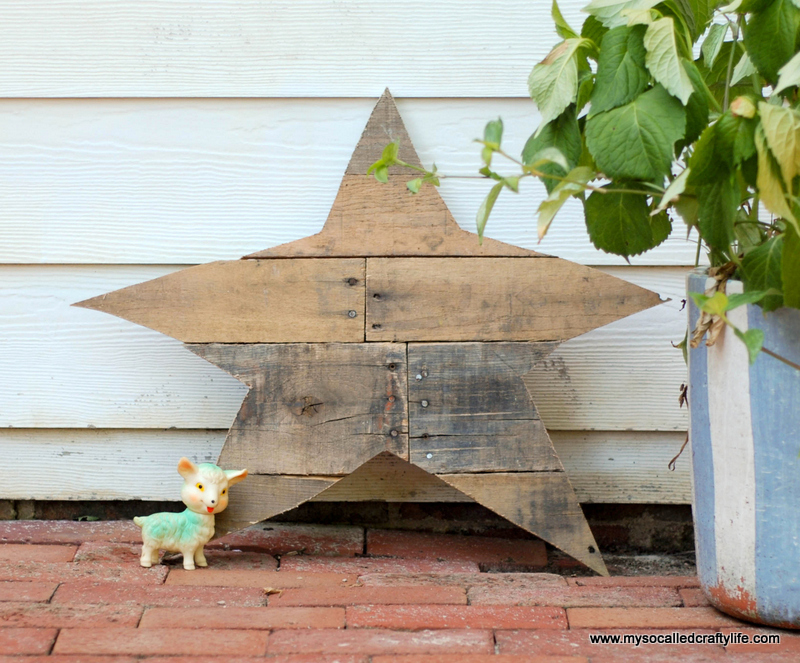 02 DSC 0021 3 DIY Reclaimed Wood Star