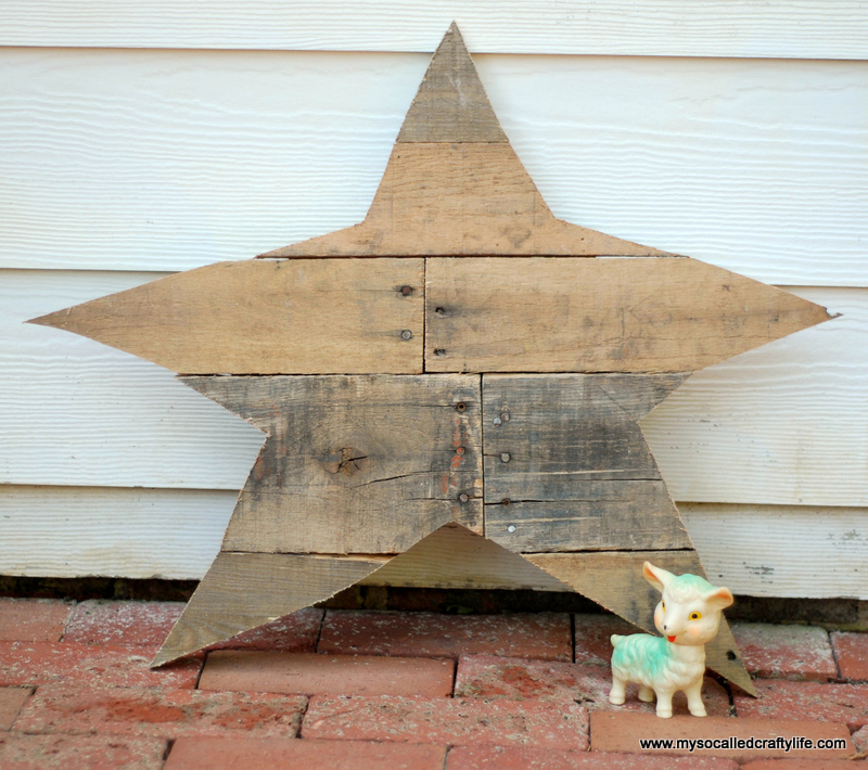 04 DSC 0012 3 DIY Reclaimed Wood Star