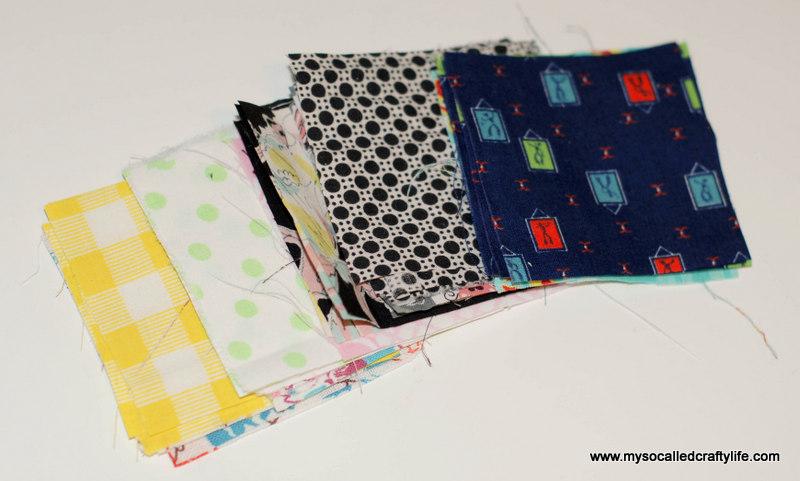 110 DIY Vintage Scrappy Patchwork Fabric Coasters