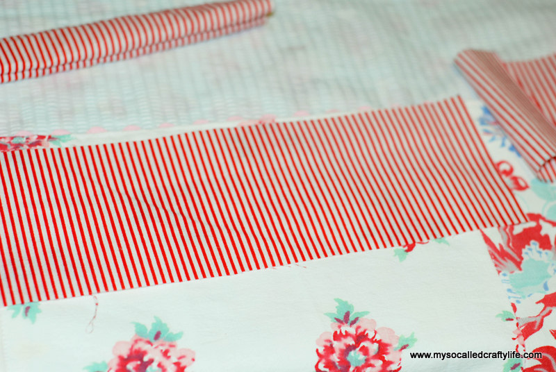 113 DIY Upcycled Vintage Tablecloth Apron