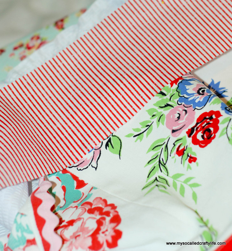 162 DIY Upcycled Vintage Tablecloth Apron
