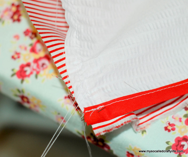 172 DIY Upcycled Vintage Tablecloth Apron