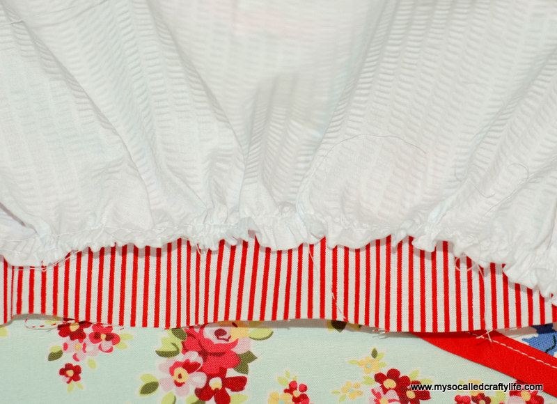 181 DIY Upcycled Vintage Tablecloth Apron