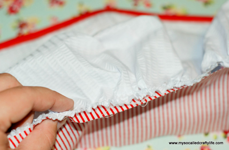 191 DIY Upcycled Vintage Tablecloth Apron