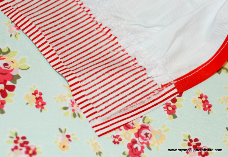 231 DIY Upcycled Vintage Tablecloth Apron