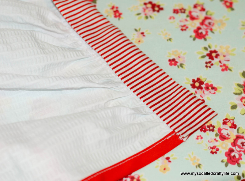 241 DIY Upcycled Vintage Tablecloth Apron